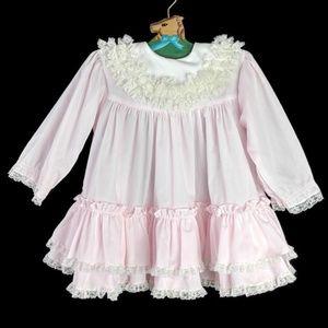 Vintage Bryan Dress Girls 24 Months Full Circle